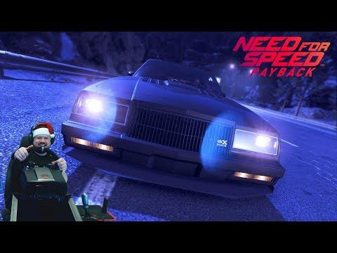 Потные гонки танец смерти  на Buick GNX в Need for Speed: Payback