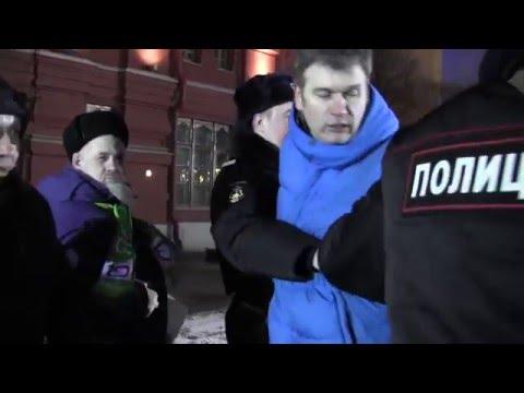 Провокация Тарасевича за пять минут до окончания пикетов