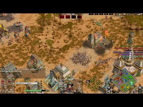 Age of mythology the TITANS 4V4 online match