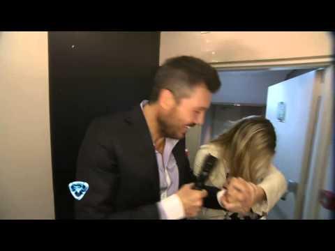 Showmatch 2014 - Tinelli corrió a su hija y se puso celoso con un periodista