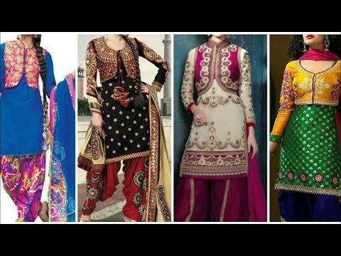 Top 30 DIfferent Types Of Jacket Salwar Suits Designs - She Fashion