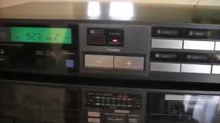 Sony ST-JX520 Tuner, TC-W5 Cassette Recorder, SEQ-120 Equalizer