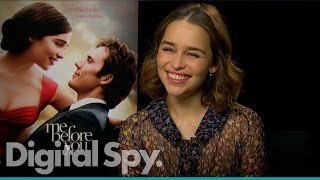 "Emilia Clarke: ""Five girls and five boys tried it with each other"" for Me Before You"