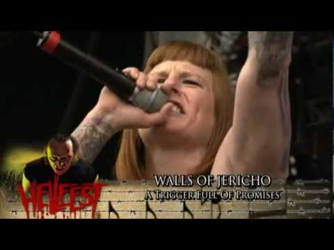 Walls Of Jericho -  A Trigger Full Of Promises at Hellfest 2010