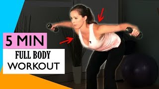 5 DAY WEIGHT LOSS CHALLENGE | PART 4  - Full Body Workout Exercises For Women 2019
