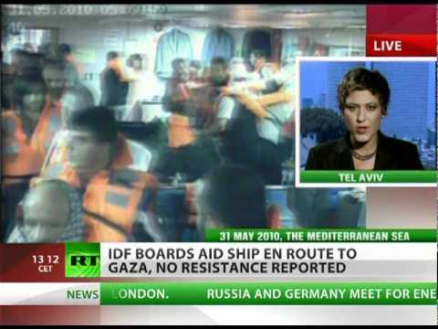 Gaza Flotilla Blocked: IDF boards last aid ship