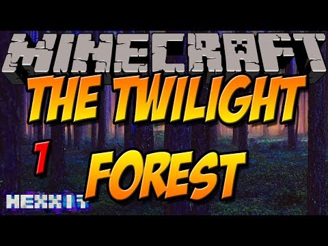 TWILIGHT BIOME & MOBS   The Twilight Forest Mod   Minecraft Hexxit Mod Review [DEUTSCH]