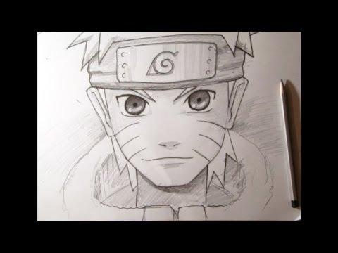 Видео как нарисовать аниме Наруто