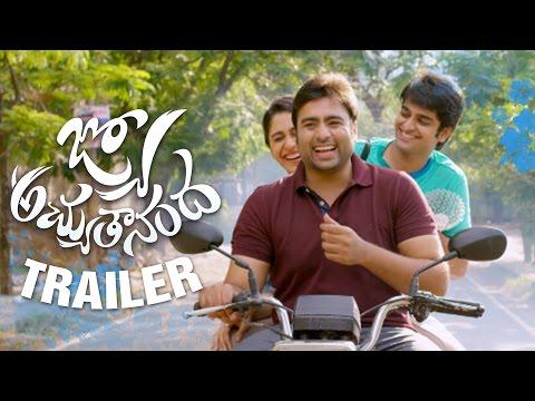 Jyo Achyutananda Theatrical Trailer - Nara Rohith, Naga Shaurya, Regina, Srinivas Avasarala thumbnail
