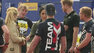 Prince Harry and Meghan Markle attend Invictus Games trials - 5 News