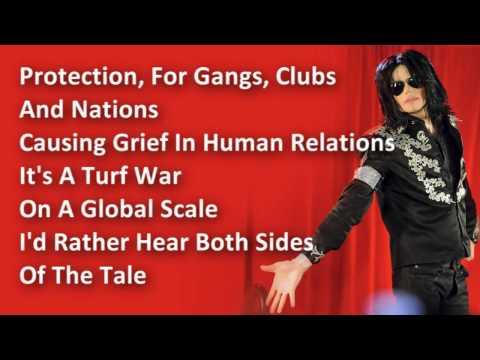 Michael Jackson - Black Or White - Lyrics