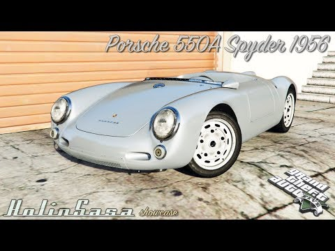 Porsche 550A Spyder 1956 [add-on]