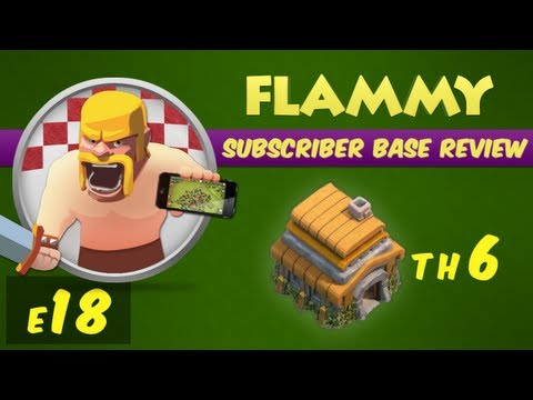 Subscriber Base Review #18 - Town Hall 6 - A range of TH6! - Clash of Clans Defensive Strategy