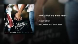 Jobe Fortner Red, White And Blue Jeans