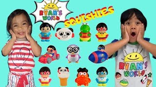 RYAN'S WORLD SQUISHIES FOUND!!! | Ryan's Toy Reviews Squishies Toy Hunt
