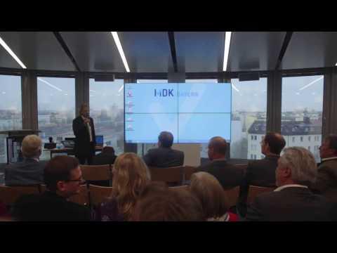 """Eröffnung des 3. Fachtages """"Gestaltung von Digitalisierung und Technik in der Pflege"""""""