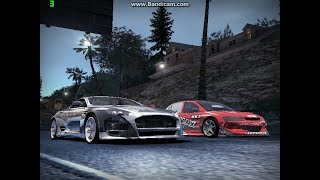 Need For Speed Carbon: Mitsubishi Lancer Evolution VIII (HKS Time Attack) VS. Wolf