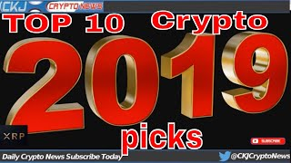 TOP 10 2019 Most Promising Under $10 Cryptocurrencies In 2019.