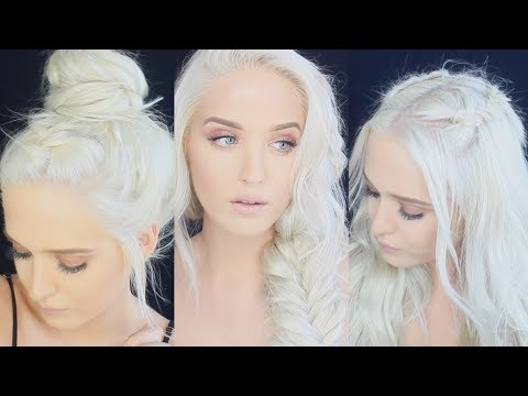 download lagu 4 Braided Hairstyles For Summer - Macy Kate gratis