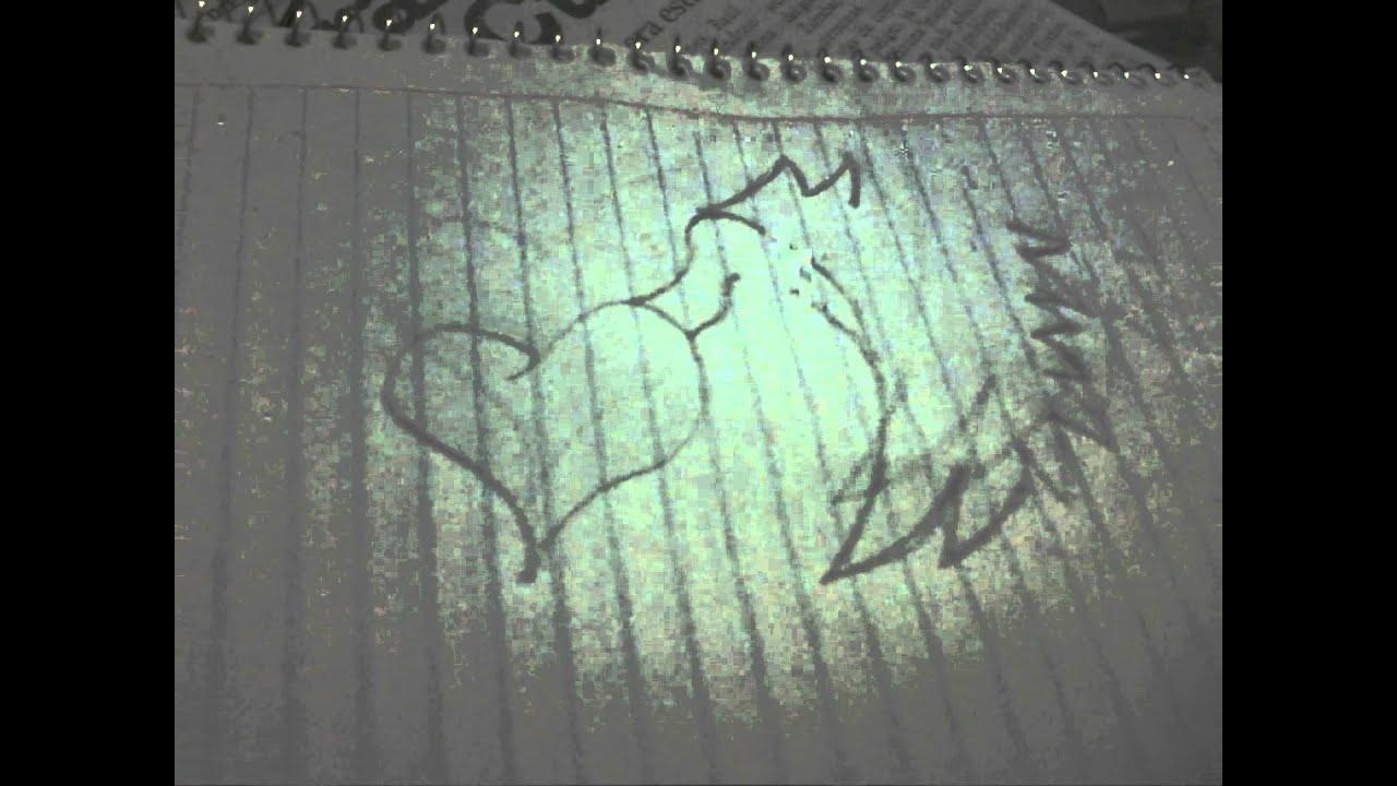 Como dibujar un corazon con alas paso a paso 2 | How to