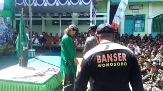 Gus Nuril: Ceramah Kebangsaan Saat Apel Siaga Banser Wonosobo dan Banjarnegara