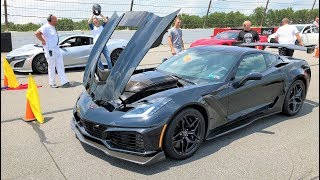NEW NSX OWNER BETS ME HE CAN BEAT MY NEW ZR1!!! *THIS is Why I Bought an AUTOMATIC*