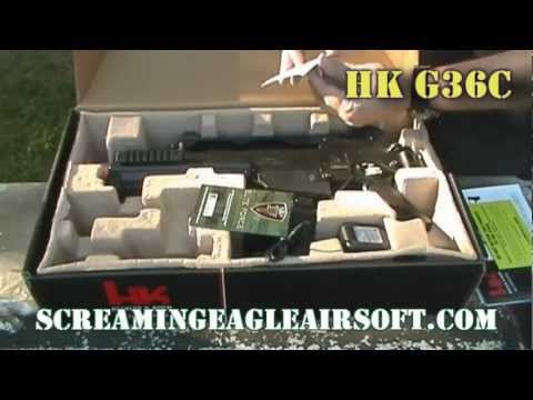 Umarex H&K G36C Airsoft AEG Review