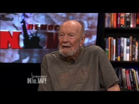 "Pete Seeger Remembers His Late Wife Toshi, Sings Civil Rights Anthem ""We Shall Overcome"""