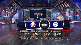 East All Star Starters Announcement | Inside The NBA | 2018 NBA All Star Weekend