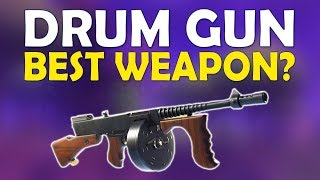 NEW META! DRUM GUN BEST AGGRESSIVE WEAPON | INSANE PUSHING LOADOUT | -(Fortnite Battle Royale)