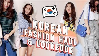 Huge Korean Fashion Haul from Seoul & Lookbook (with prices!) | thatxxRin