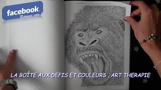 Big KidColoring Book, Fantastic Flora and Fauna: Roar - Animals with Attitude de Dawn Boyer