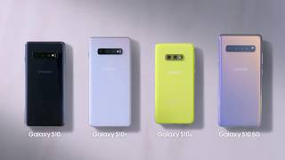 Samsung Galaxy S10 Official Colors