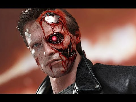 HOT TOYS T800 BATTLE DAMAGED VERSION 1984 TERMINATOR PREVIEW