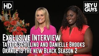 Taylor Schilling and Danielle Brooks Exclusive Interview - Orange is the New Black Season 2