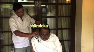 Ambareesh Hair Cutting and Shaving - Exclusive