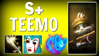 THIS IS HOW YOU GET S+ WITH TEEMO IN SEASON 8!!