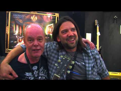 Jeff and Nik Huber at the Musikmesse Frankfurt 2013