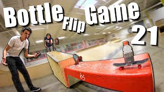 ULTIMATE GAME of BOTTLE FLIP! | Round 21 (Handboard Edition)