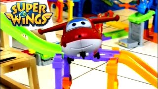 [Smart Wheels City] Super Wings - Jet's Delivery (Vtech Go! Go! Smart Wheels Playsets)
