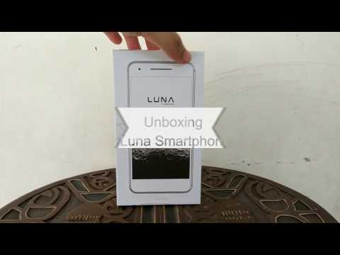 Unboxing Smartphone Android Luna Foxconn