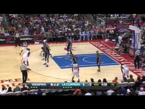 [10.31.12] Jamal Crawford - 29 points vs Grizzlies (Clippers Debut) (Full Highlights)