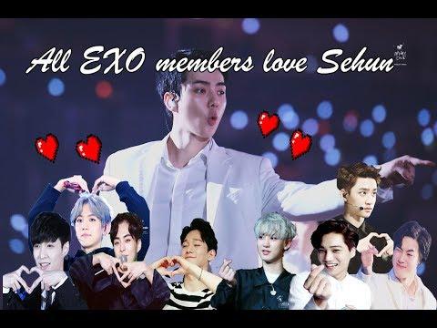Download  All EXO members love Sehun Gratis, download lagu terbaru