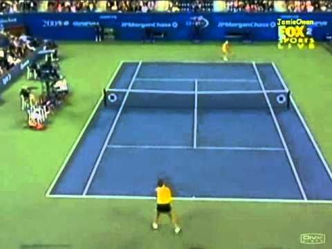 Lindsay ダベンポート vs エレナ デメンティエワ 2005 全米オープン ハイライト