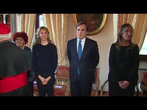 Gentiloni all'Ambasciata d'Italia presso la Santa Sede