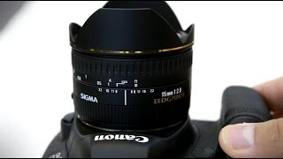 Sigma 15mm f/2.8 'Fisheye' lens review with samples (Full-frame and APS-C)