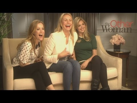 The Other Woman interview: Cameron Diaz, Leslie Mann and Kate Upton talk hairy men and 'smeeting'