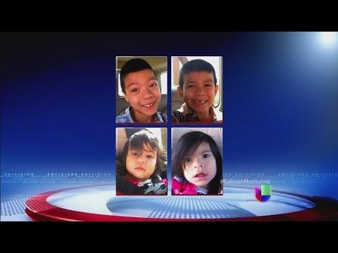 Hallan a cuatro niños secuestrados en Los Ángeles