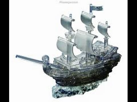 Crystal Skull Puzzle Crystal Puzzle Set Pirate Ship