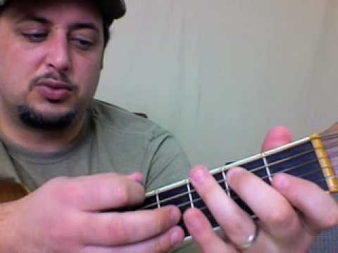 Easy Acoustic Country Bluegrass Guitar Lesson - Acoustic Quick Licks 2